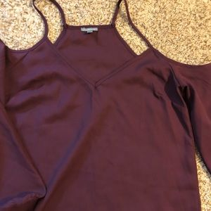 Charlotte Russe long sleeve blouse size M
